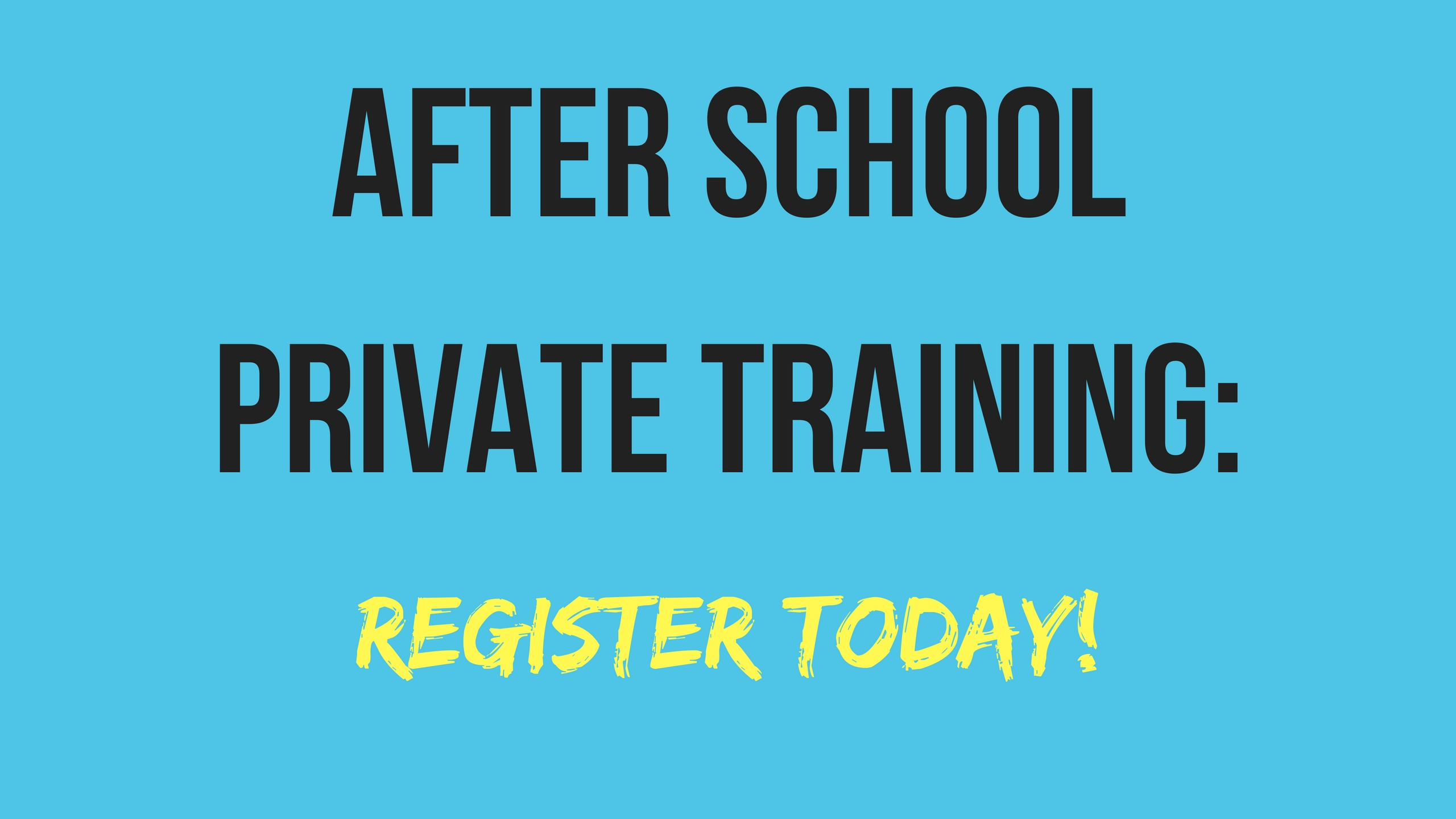 Register for Private Training with our DOC Today!