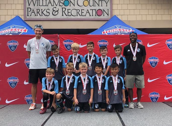 SKY Academy Boys 2010 are Champs!