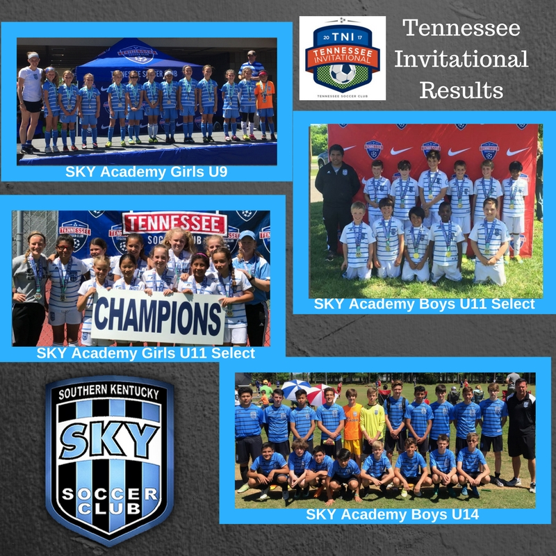 SKY Teams Represent Well in Tennessee Invitational!