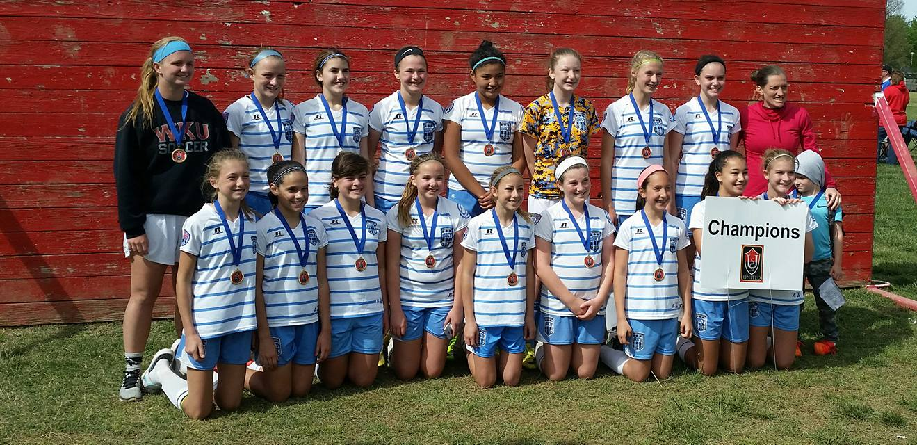 SKY Girls U13 Champions in U14 Division at Owensboro Spring Cup